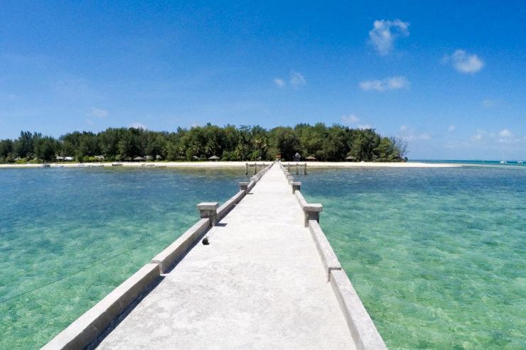 Wakatobi Islands in Indonesia