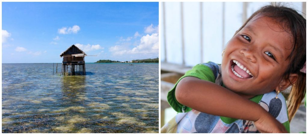 And don't forget to visit the Bajo Tribe, a village of sea gypsies that live in the Wakatobi Islands in Indonesia.