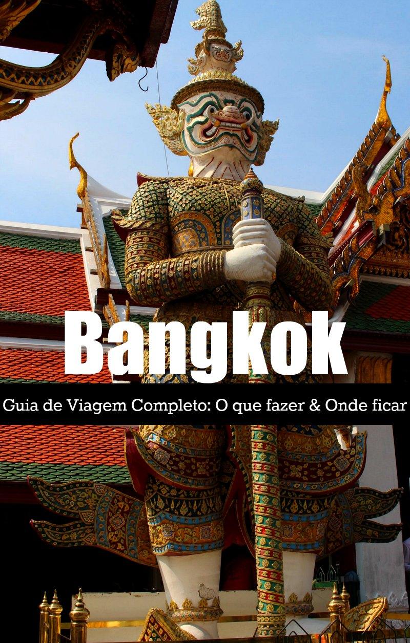 Roteiro de Viagem para Bangkok! Atrações turísticas de Bangkok, onde ficar, como se locomover e não cair nos golpes. Tudo que você precisa saber para planejar sua viagem para a capital da Tailândia.
