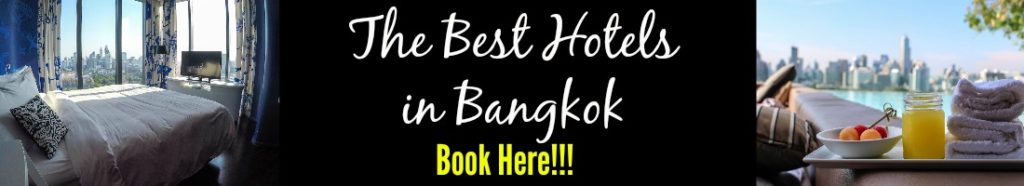 How to book the best hotels for your first time in Bangkok.