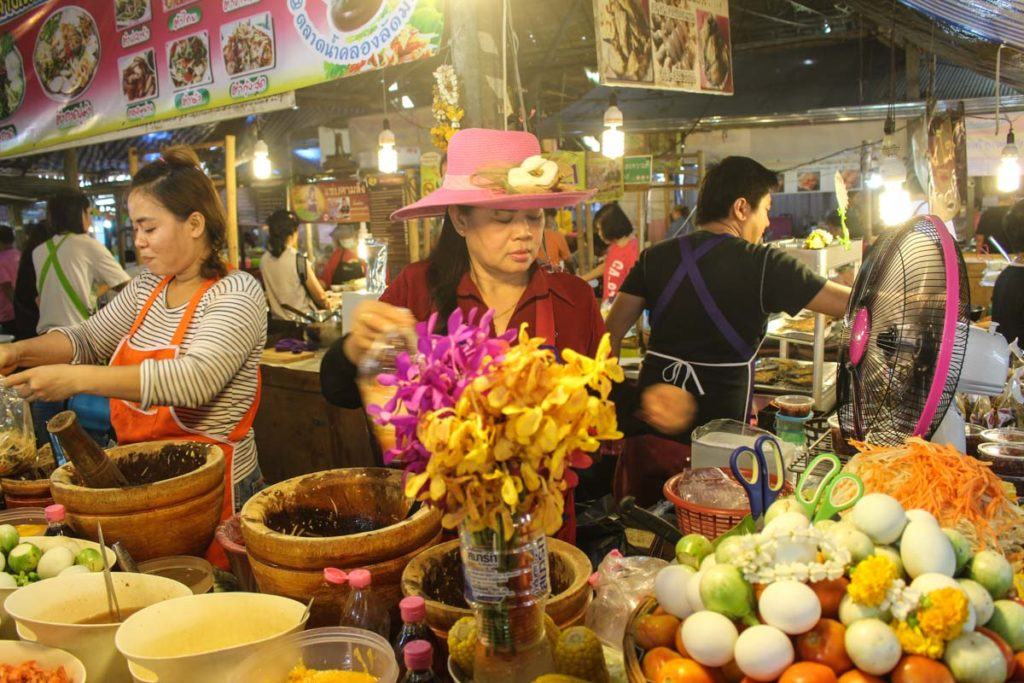 On your first time in Bangkok don't forget to try the local food, it's delicious!