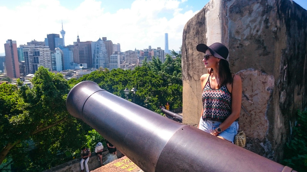 The Mount Fortress is one of the most famous attractions in Macau.