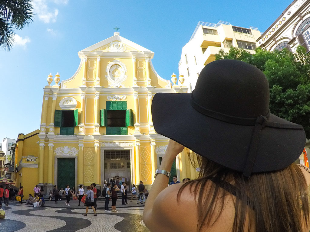 The Senado Square is an attraction you must visit in Macau.