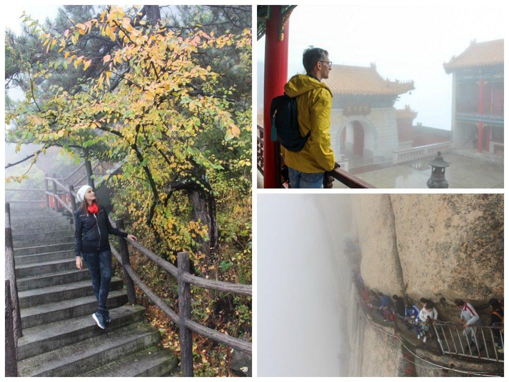 A Montanha e Huashan é linda, sem dúvida uma das atrações imperdíveis, uma atividade que você deve fazer em Xi'an.