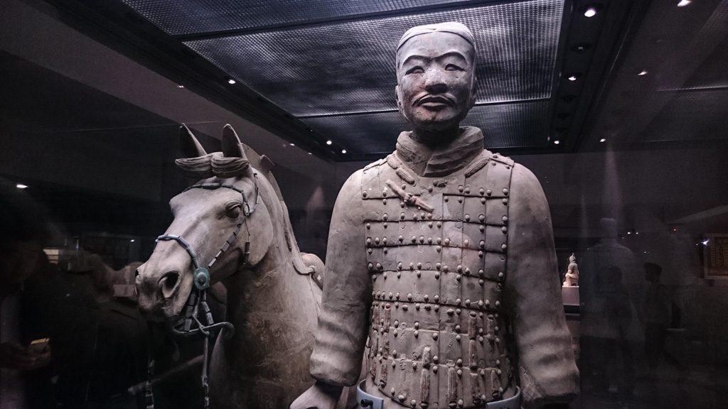 Visitaro museu dos Soldados de Terracota está no topo da lista do que fazer em Xi'an.