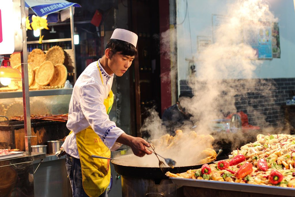 Eat everything you can find at the Muslim Street, this is most delicious street and things to do in Xi'an.