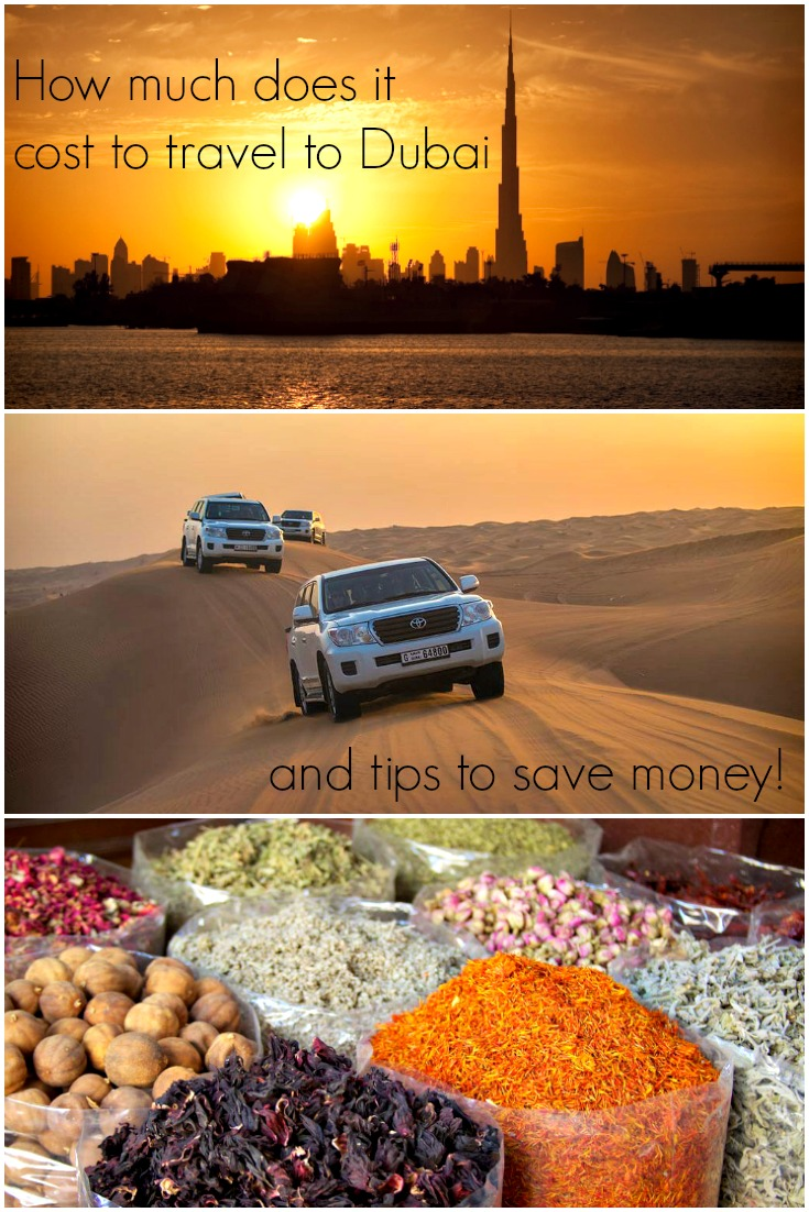 How much does it cost to travel to Dubai?  Tips to travel to Dubai on a budget or in luxurious style. Travel hacks to save money and plan a trip to Dubai.