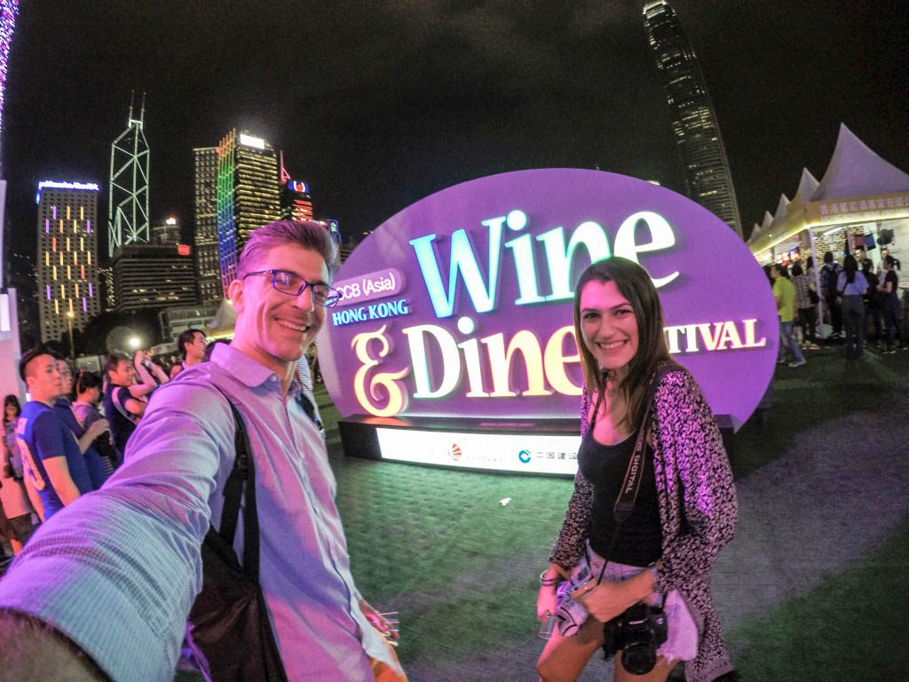 We manage to squeeze the Wine and Dine Festival on our Hong Kong itinerary and was a great experience.