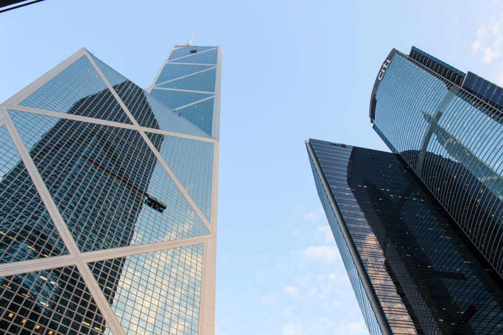 The contrast between the modern and the old is one of Hong Kong attractions.