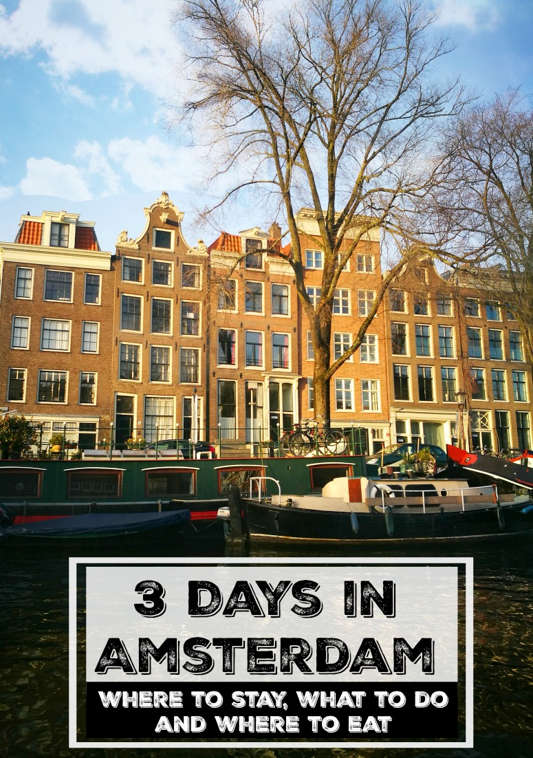 What to do in Amsterdam, where to stay and places to eat. A complete itinerary for 3 days in Amsterdam in winter, all you need to plan your trip to this amazing city.