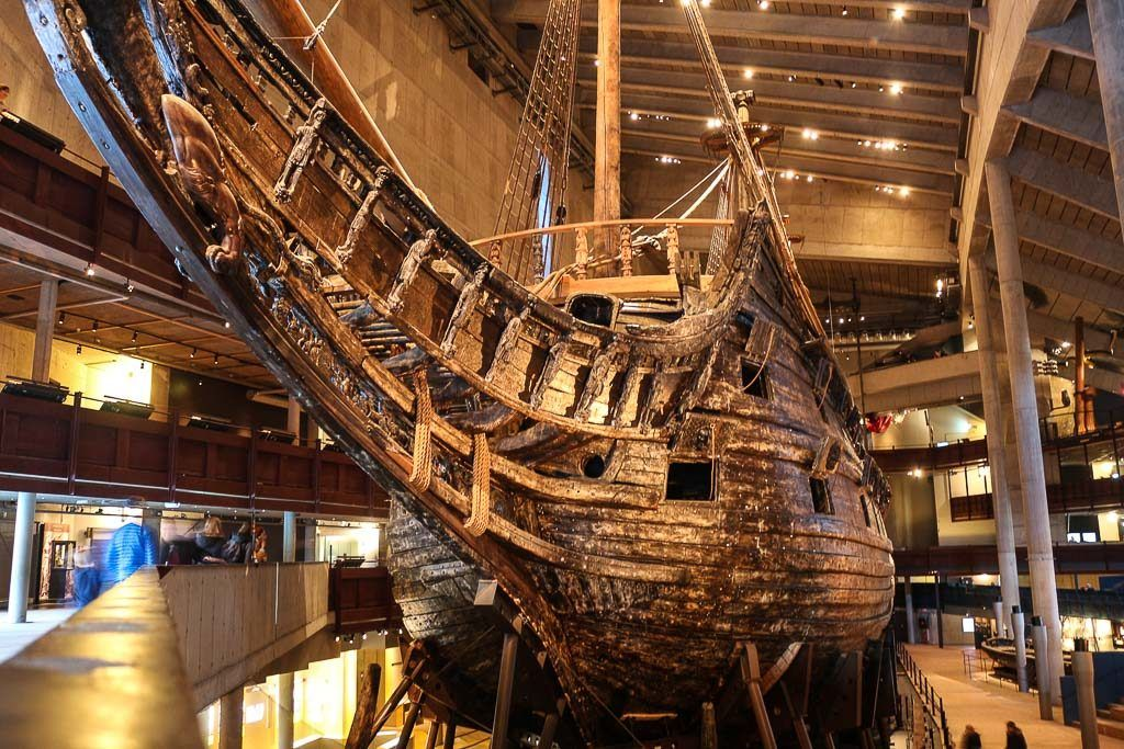 A visit to the Vasa Museum is one of the must things to do in Stockholm in winter time.