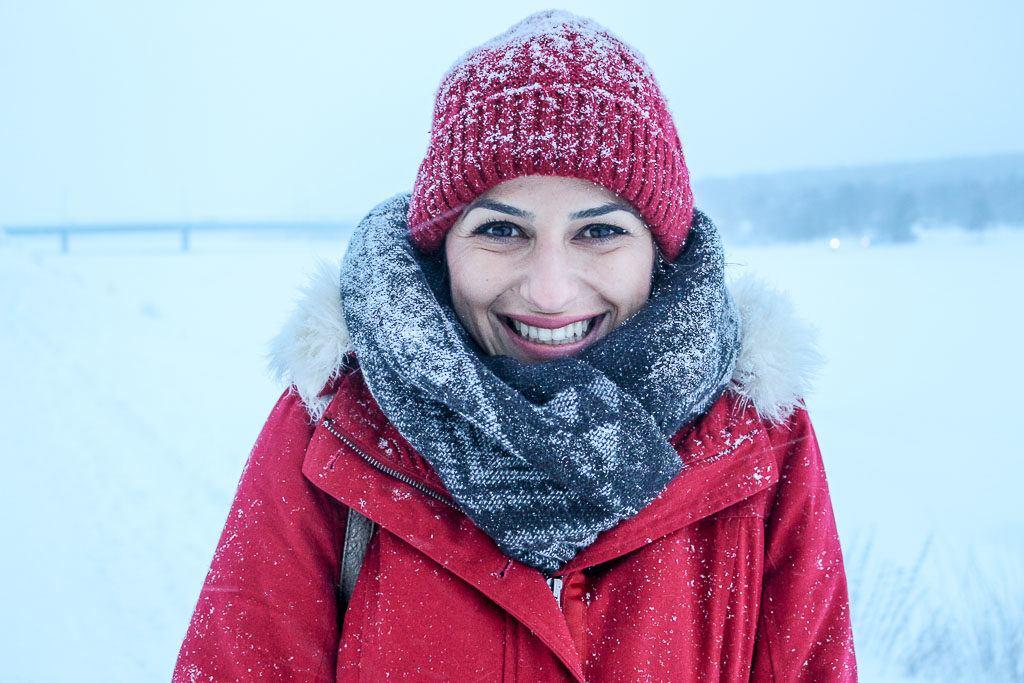 Esteja preparado para enfrentar o frio, os ventos e a neve em Rovaniemi, Finlândia.