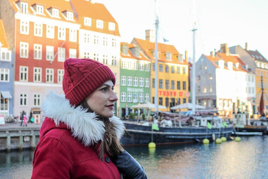 Em Copenhagem na Dinamarca fizemos nossa reserva da Eurail na estação central de trem, super rápido e fácil.
