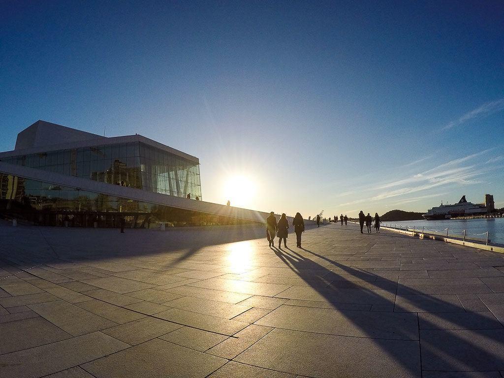 Nossa viagem com o passe da Eurail na Escandinávia começou em Oslo na Noruega.