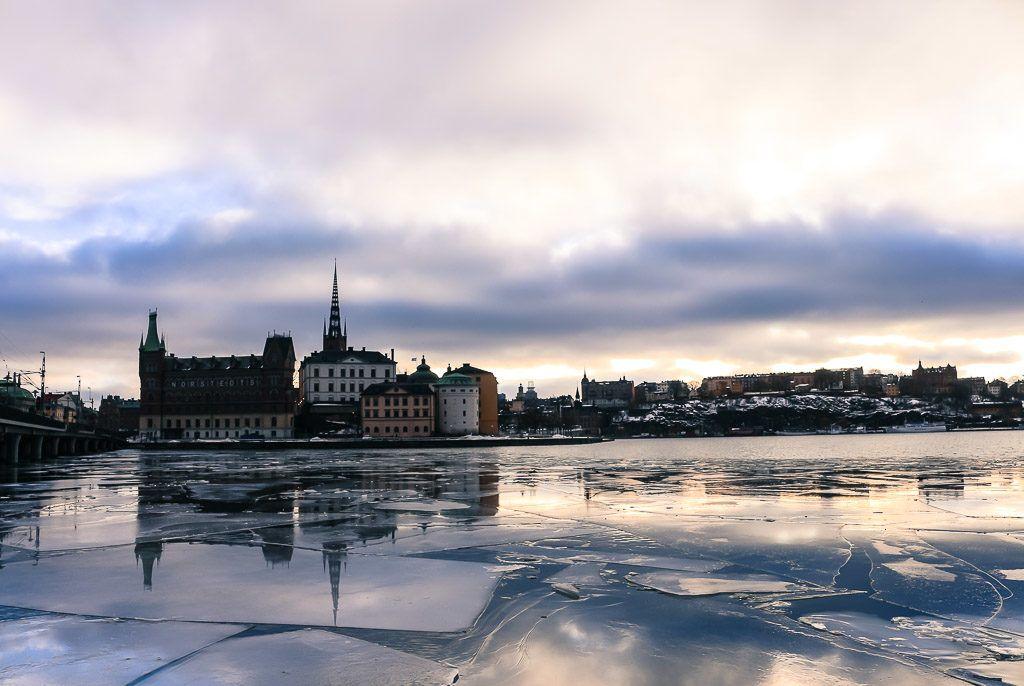 De Oslo fomos para Dinamarca e depois viajamos para Estocolmo na Suécia. Toda a viagem foi de trem com o Passe da Eurail para Escandinávia.