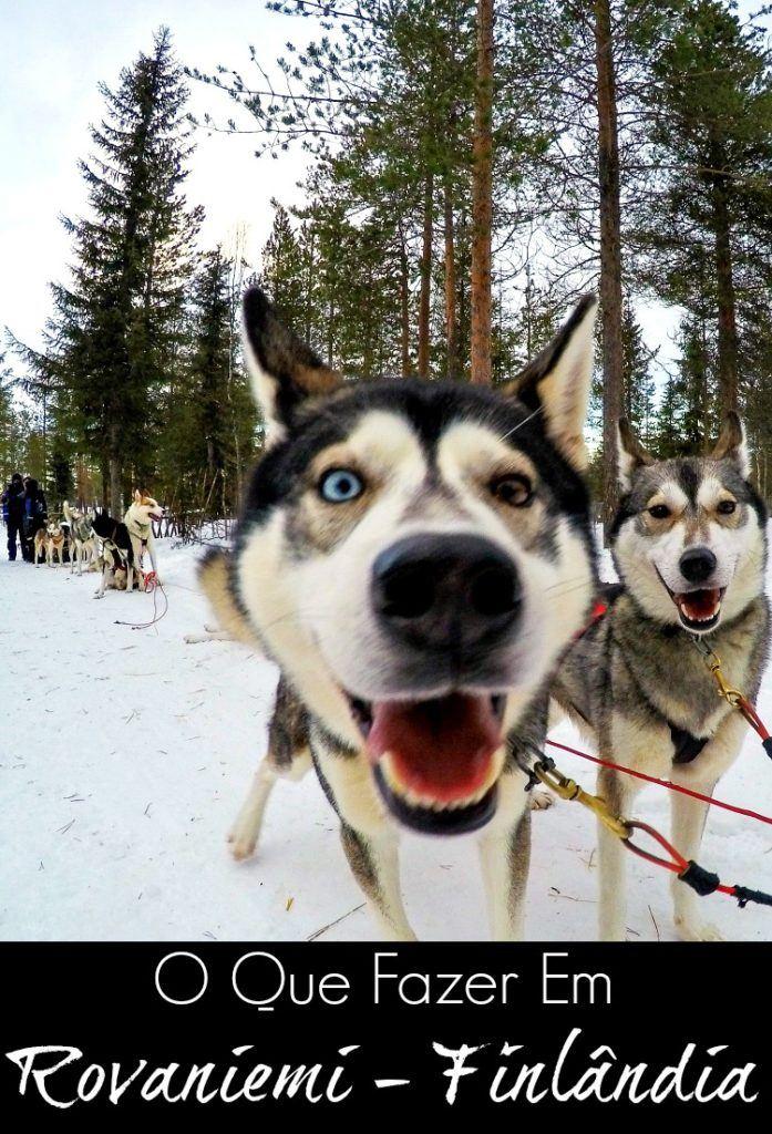 Dicas do que fazer em Rovaniemi na Finlândia. Como planejar a viagem para a Lapônia, onde ficar em Rovaniemi e como ver a aurora boreal na Finlândia. Descubra esse destino mágico de inverno.