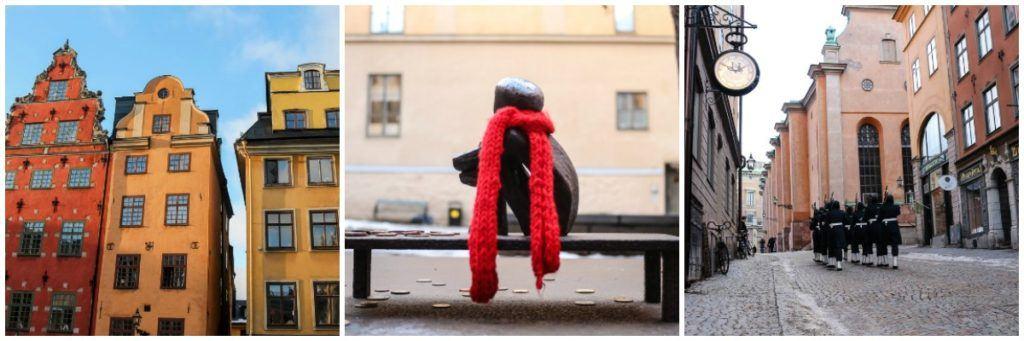 Existem vários lugares lindos e históricos para visitar em Estocolmo.