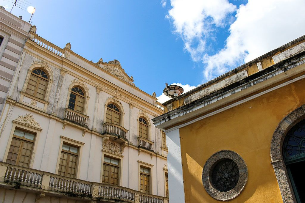 One of the best places to visit on your city tour in Florianópolis is the old town and see the beautiful colonial architecture.