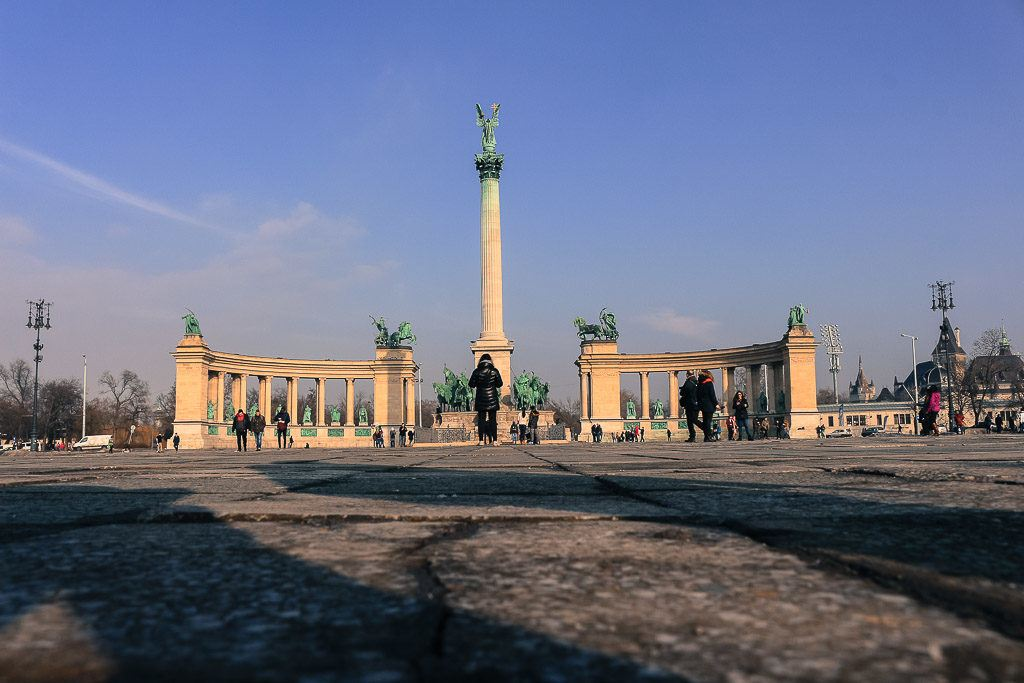 When you arrive at the Heroes Square the possibilities of things to do in Budapest are endless.