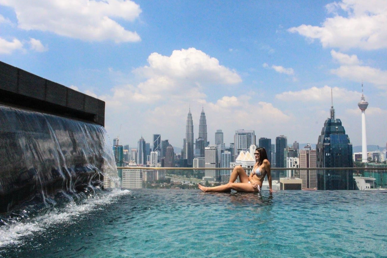 Your one day in Kuala Lumpur itinerary must start with a view. The hotels in Kuala Lumpur are to die for.