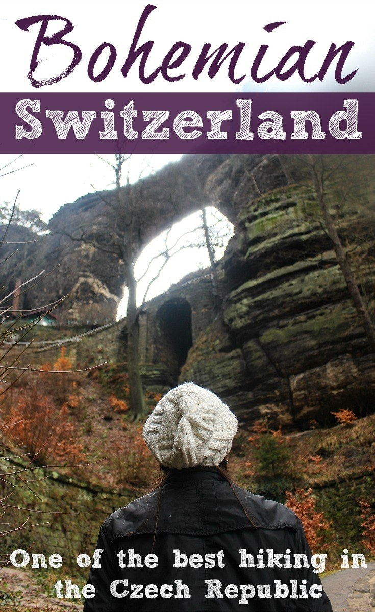 Discover the Bohemian Switzerland in the Czech Republic! Tips for hiking in Bohemian Switzerland National Park. How to get there, where stay, trails and the best day trips from Prague to Bohemian Switzerland. #CZ #CzechRepublic #BohemianSwitzerland #Travel #AdventureTravel #Hiking #Hikingtrails #Adventure #Europe