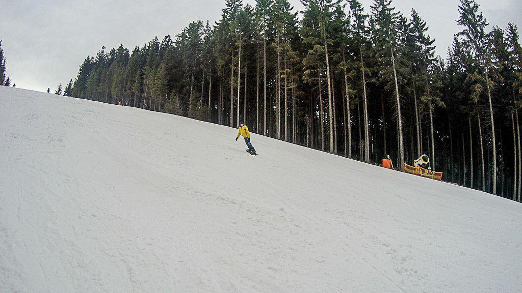 Lipno Ski Resort fica apenas a 30 minutos de Česky Krumlov.