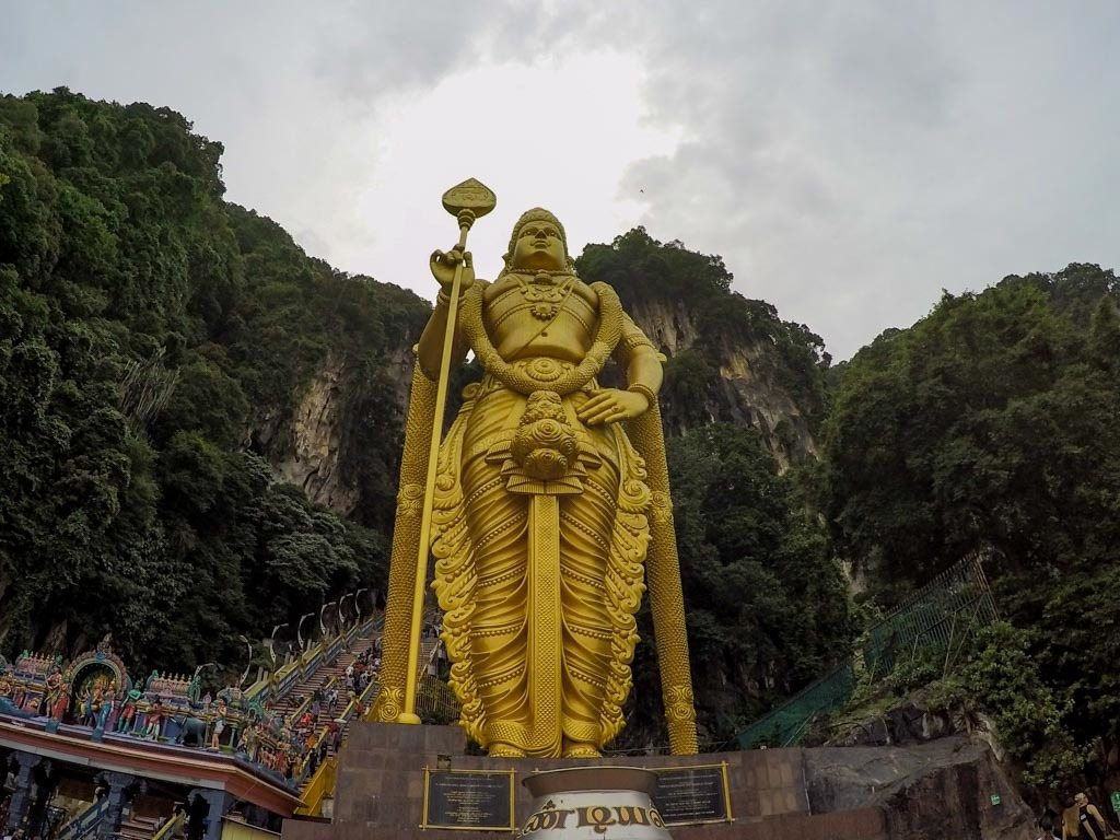 The Batu Caves are one of the top attraction in Kuala Lumpur. Even if you are only one day in KL you must visit it.