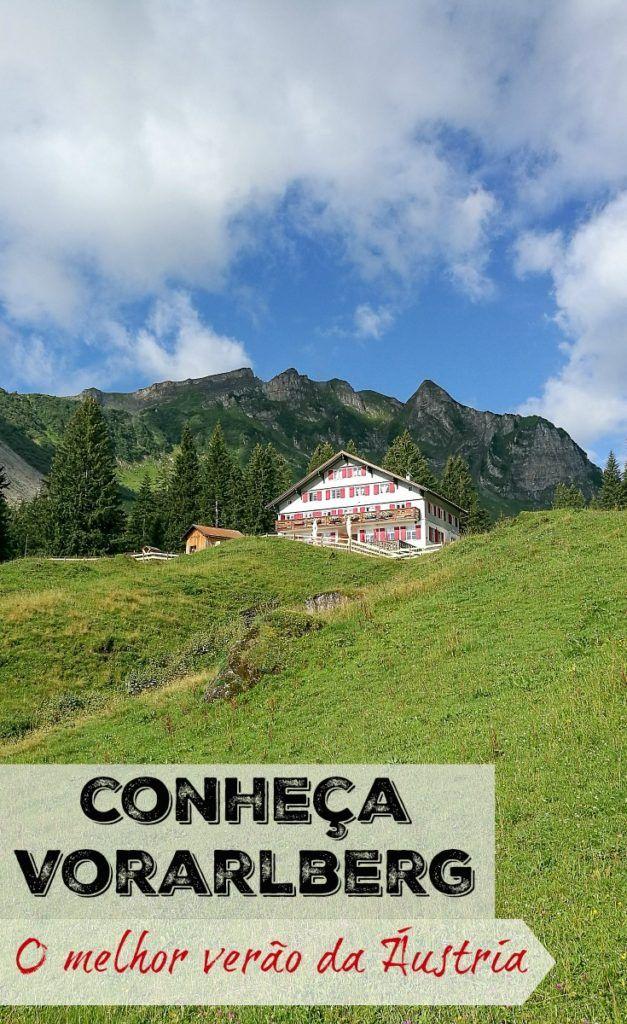 Curta o Verão na Áustria! Descubra o que fazer em Vorarlberg, uma região linda nos Alpes Austríacos. Aventuras, adrenalina e muita diversão. Os melhores hotéis em Bregenzerwald e como planejar sua viagem para essa cidade de montanha na região de Vorarlberg, Áustria.