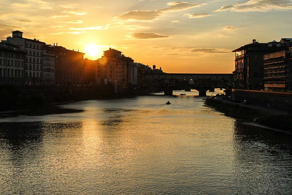 To enjoy the most of your one day in Florence, book a hotel and sleep one night there. You will be able to enjoy the day and evening in this stunning city.