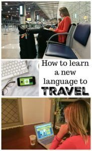 How to learn a new language to travel? We share tips and tools to learn a new language for travel and while traveling. Study at your own pace and on the go. How to choose the best online course, organize your schedule and practice your new language every day.