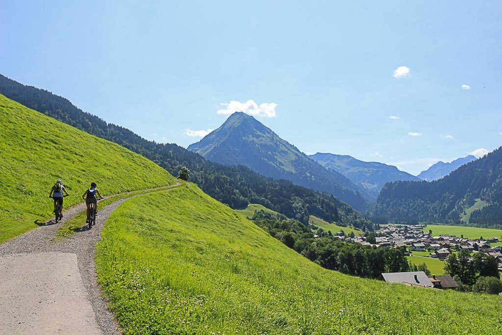 Mountain bike is another top thing to do in Bregenzerwald, Vorarlbeg - Austria.