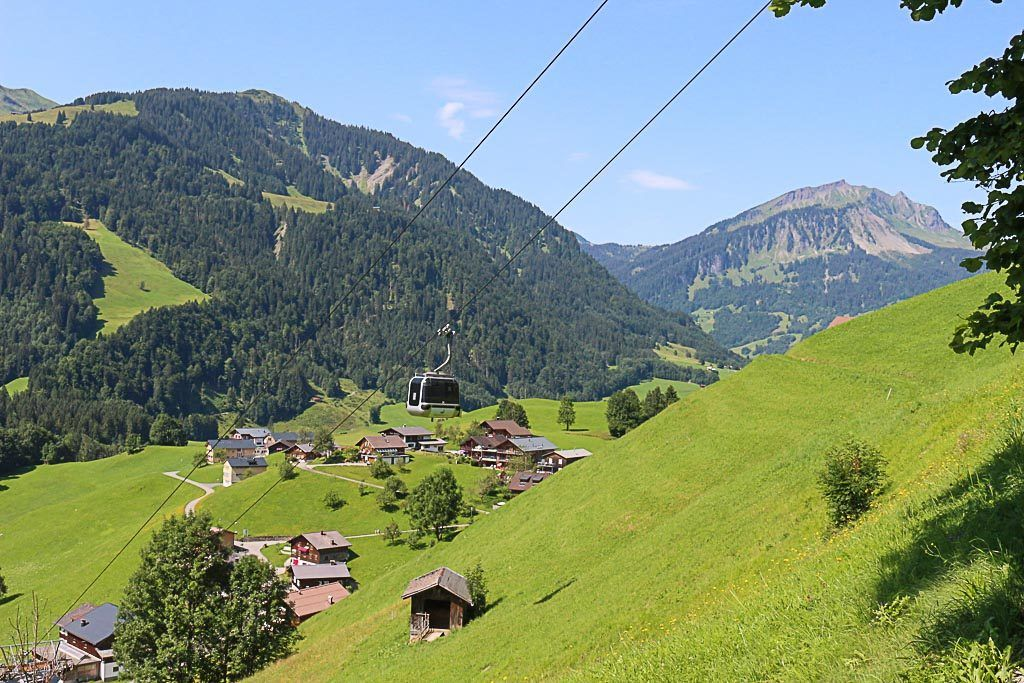 The Bregenzerwald Guest Card gives you access to all public transportation and the cable car operating during the summer..