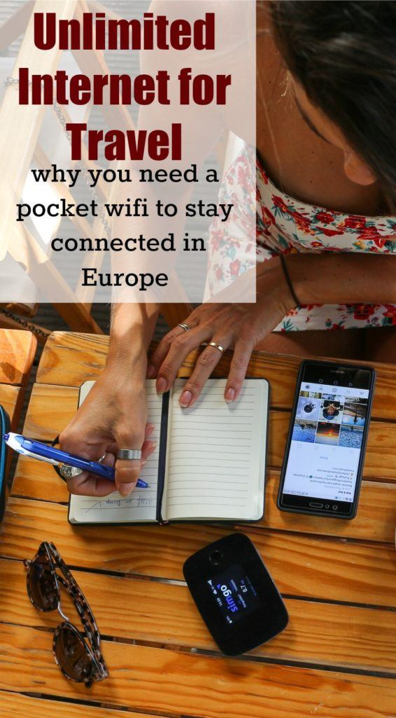 Stay connected in Europe and around the world. How to have your own international pocket wifi and have access to unlimited internet while traveling. All you need to know to rent and use a portable wifi on your next trip.