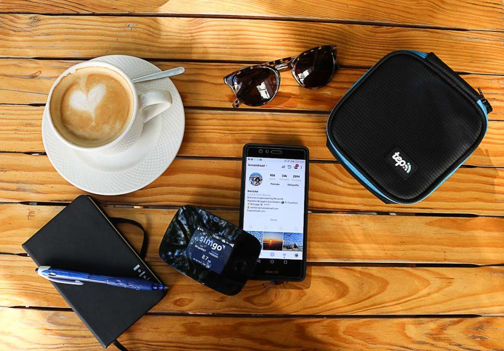 Tep Wireless portable wifi is so small that can fit in any bag or pocket.