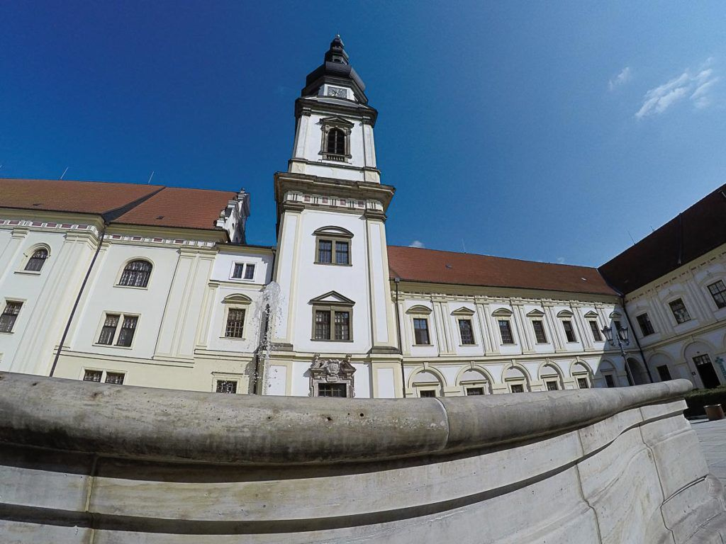 Hradisko Monastery is one of the most beautiful places to visit in Olomouc, Czech Republic.