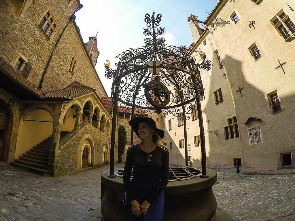 The tour inside the Bouzov Castle is in Czech, but that ok... The place is stunning and walk around it the best part.