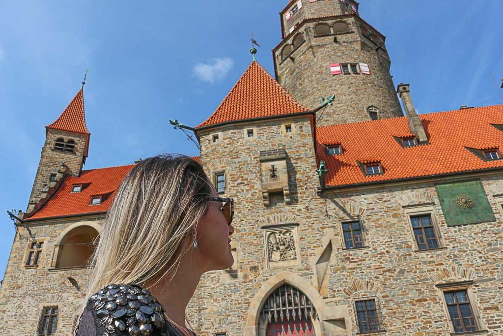 Visiting the Bouzov Castle is one of the top things to do in Olomouc. The castle is beautiful and well preserved.