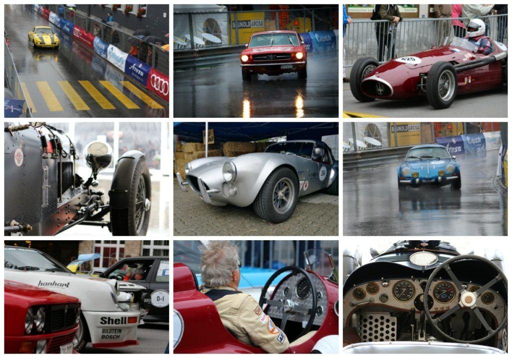 A corrida Arosa Classi Car é um verdadeiro show, os carros antigos correm rápido. Assistir a corrida é uma das coisas mais legais para fazer em Arosa, Suíça.