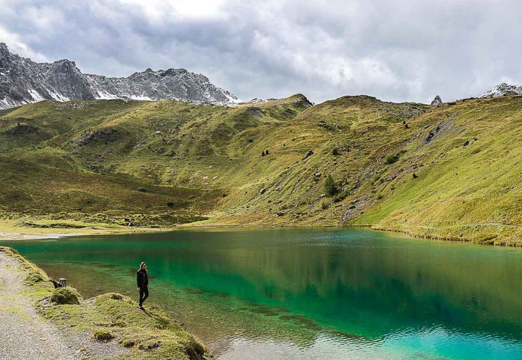 Schwellisee Lake is one of the top attractions in Arosa and it's stunning during Summer.