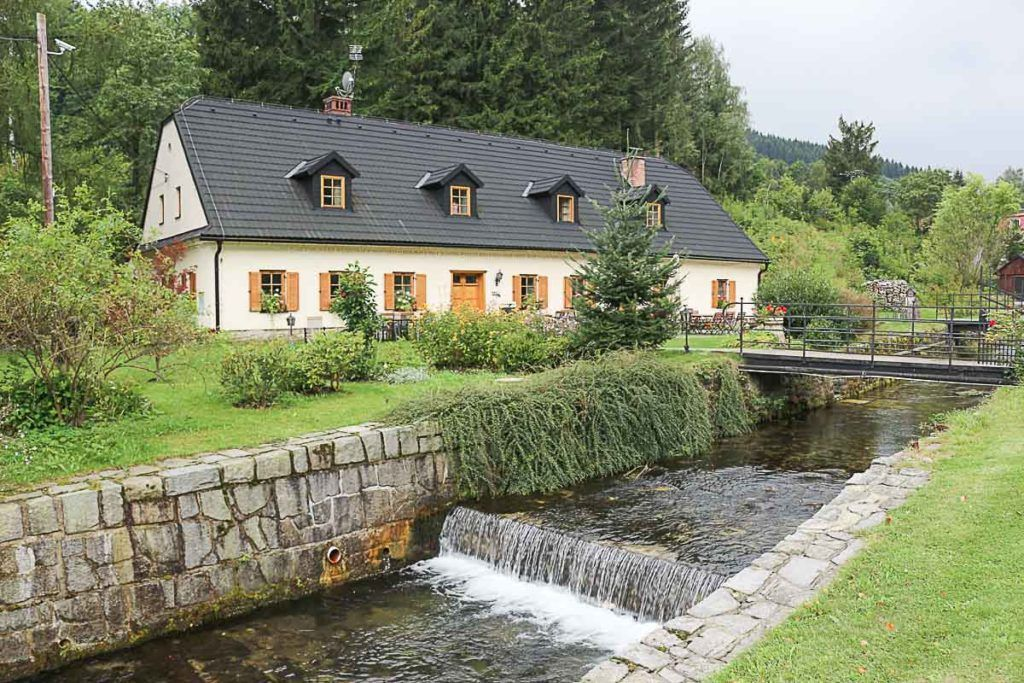 One of the best hotels in Jeseníky Mountains is the Penzion Kovarna, we love it!!!