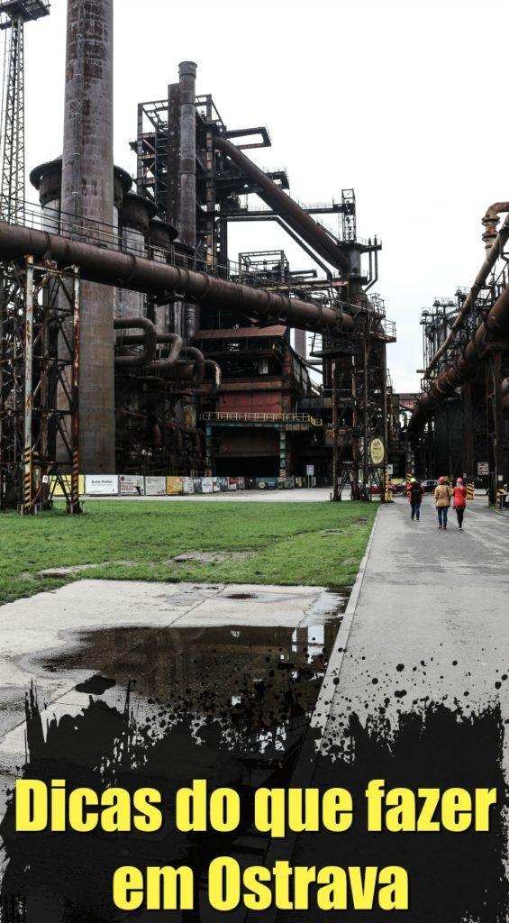 Super guia de viagem para Ostrava na República Tcheca! O que fazer em Ostrava, onde ficar e como se locomover. Dicas das principais atrações e locais para visitar em Ostrava, além de experiências únicas que você só vai encontrar lá. Siga as nossas dicas e aproveite esta cidade industrial, um destino surpreendente na República Tcheca. #Ostrava #VisitCZ #RepublicaTcheca #dicasdeviagem #roteirodeviagem #Eurotrip #Czechia #DolniVitkovice