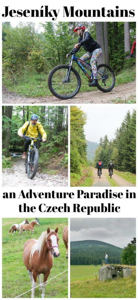 Jeseníky Mountains is an adventure paradise in the Czech Republic! Mountain bike, hiking, caves and much more. Here are the best things to do in Jeseníky Mountains, where to stay and where to eat. Tips on how to travel to Jeseníky Mountains and how to plan your travel itinerary in the Czech Republic. #JesenikyMountains #Jeseniky #CzechRepublic #CZ #VisitCZ #Adventuretravel #hiking #mountainbiking #Europe #traveltips