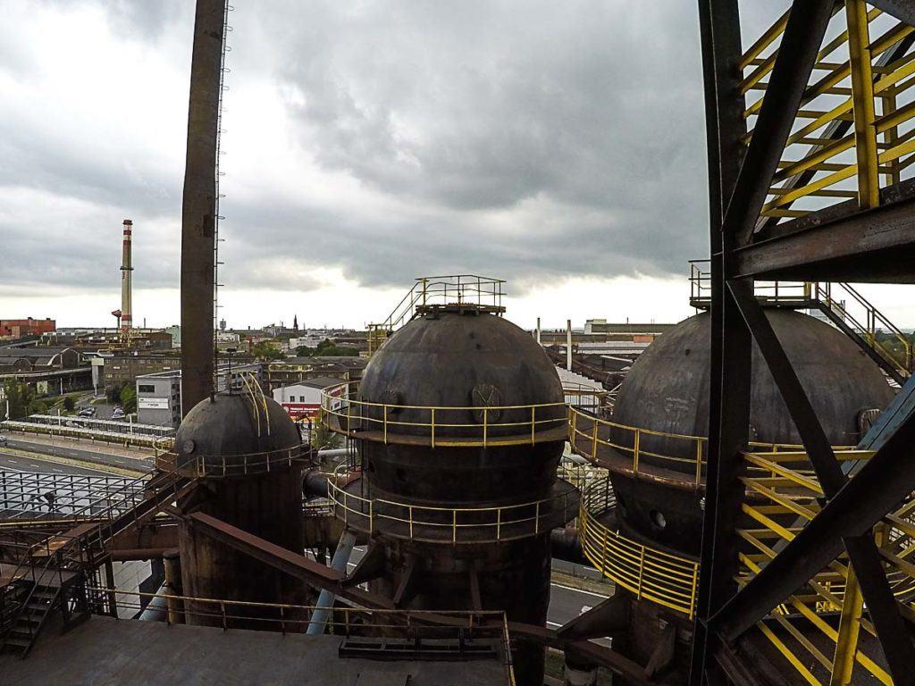 A visita a indústria Dolni Vitkovice é gratuita e por isso de ve estar no topo da lista do que fazer em Ostrava na República Tcheca.