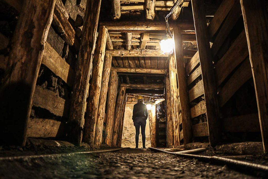 At Landek Park you can visit the old mining tunnels and listen to the history about how cool was mined in Ostrava.