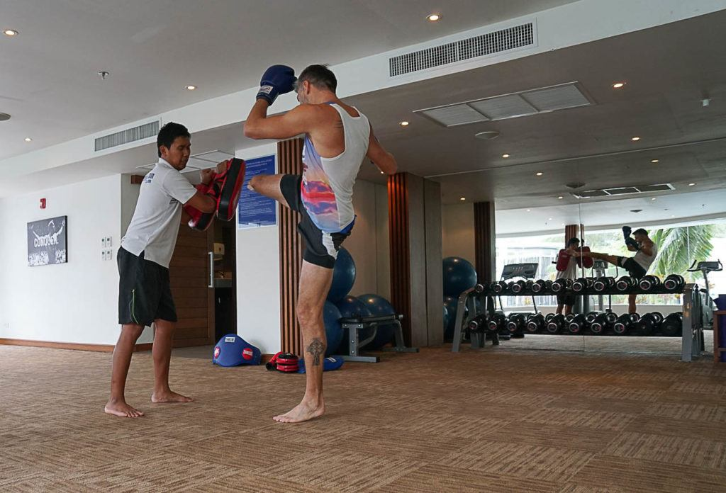 One of the top things do in Karon Beach is to learn Muay Thai, the traditional Thai marcial art.