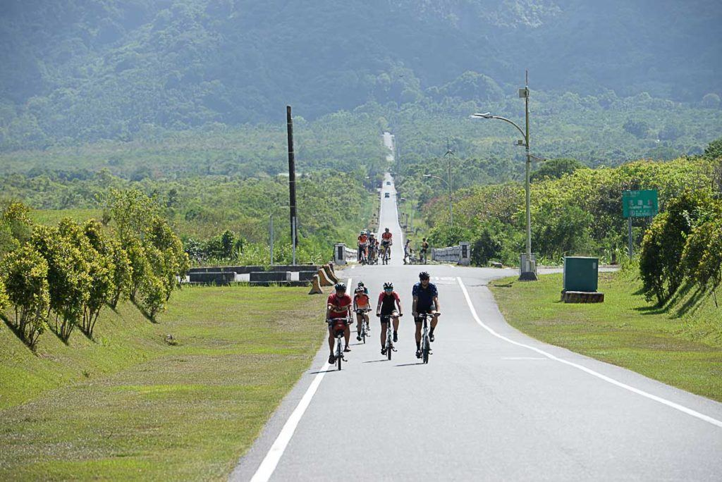 The heat was a big challenging when cycling the east coast of Taiwan.