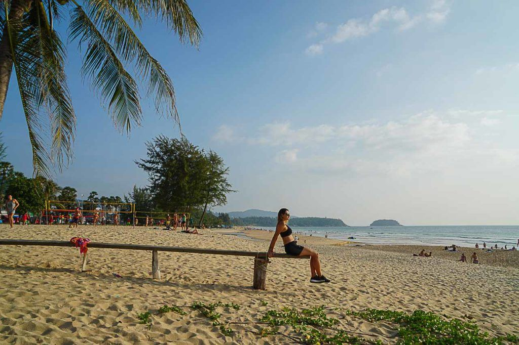 Karon Beach is one of the best beaches in Phuket, the water is crystal clear and you can enjoy many activities on the beach.
