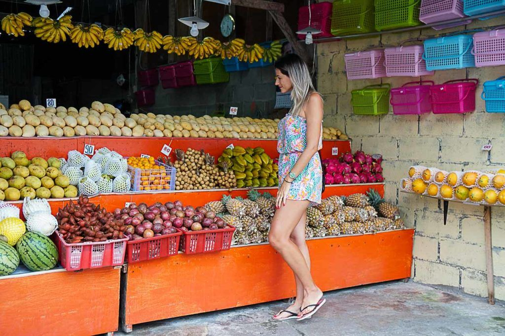 And don't forget to visit the Karon Temple Market and buy some fresh fruits.