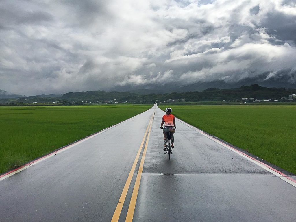 On day 3 of our cycling trip in Taiwan we rode from Cycling from Chishang Township to Taimali Township, Taitung County
