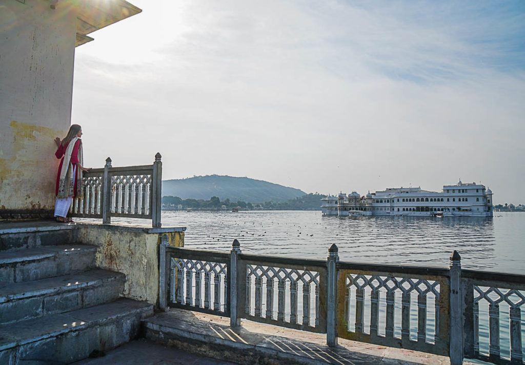 Udaipur é conhecida como a cidade dos lagos e foi uma das parados do Palace on Wheels que nós mais gostamos.